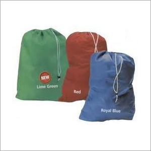 Colored Laundry Drawstring Bag