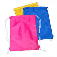 Colored Drawstring Bag