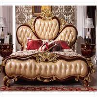 Wooden Antique Maharaja Bed