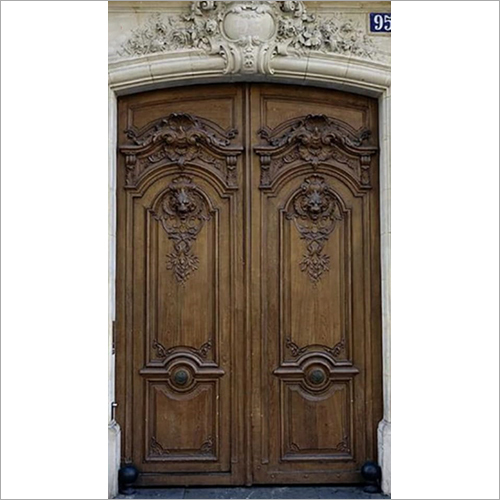 Wooden Antique Carved Door