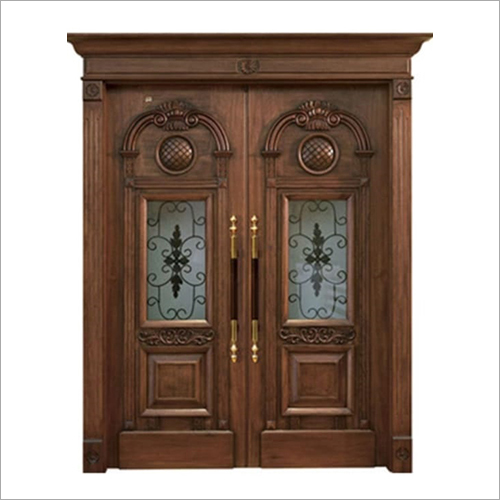 Wooden Carved Double Door