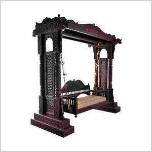 Wooden Carved Antique Swing
