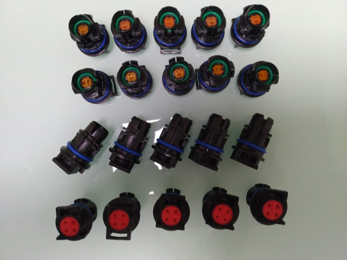 6.0L Power Stroke Injector Solenoids Receptacle Connector Plug