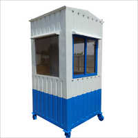 4x4 Portable Security Cabin