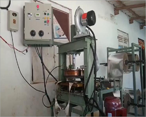 Fully Automatic Thali or Dona Making Machine