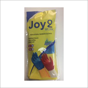 Jyo 2 Work Industrial Rubber Hand Gloves