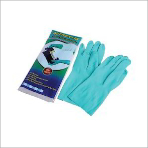 Nitrex-15 Flock Lined Industrial Nitrile Hand Gloves