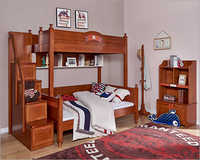 Wooden Children Bunk Bed Furniture
