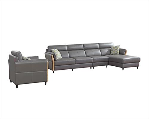 Luxury Leather Sofa Set