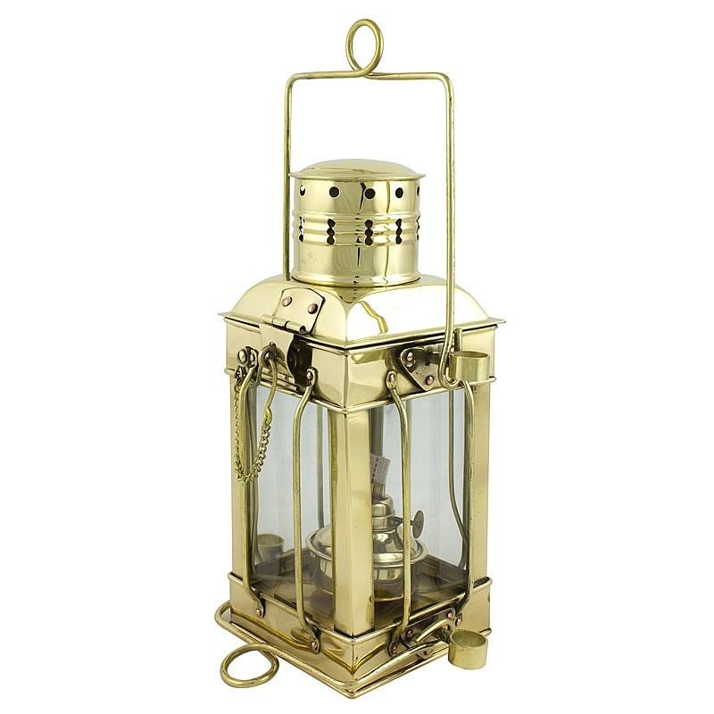 Brass / Glass Cargo Lamp Oil Lamp