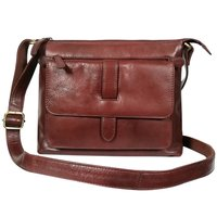 New Leather Shoulder Bag Women's Sling Crossbody Handbag