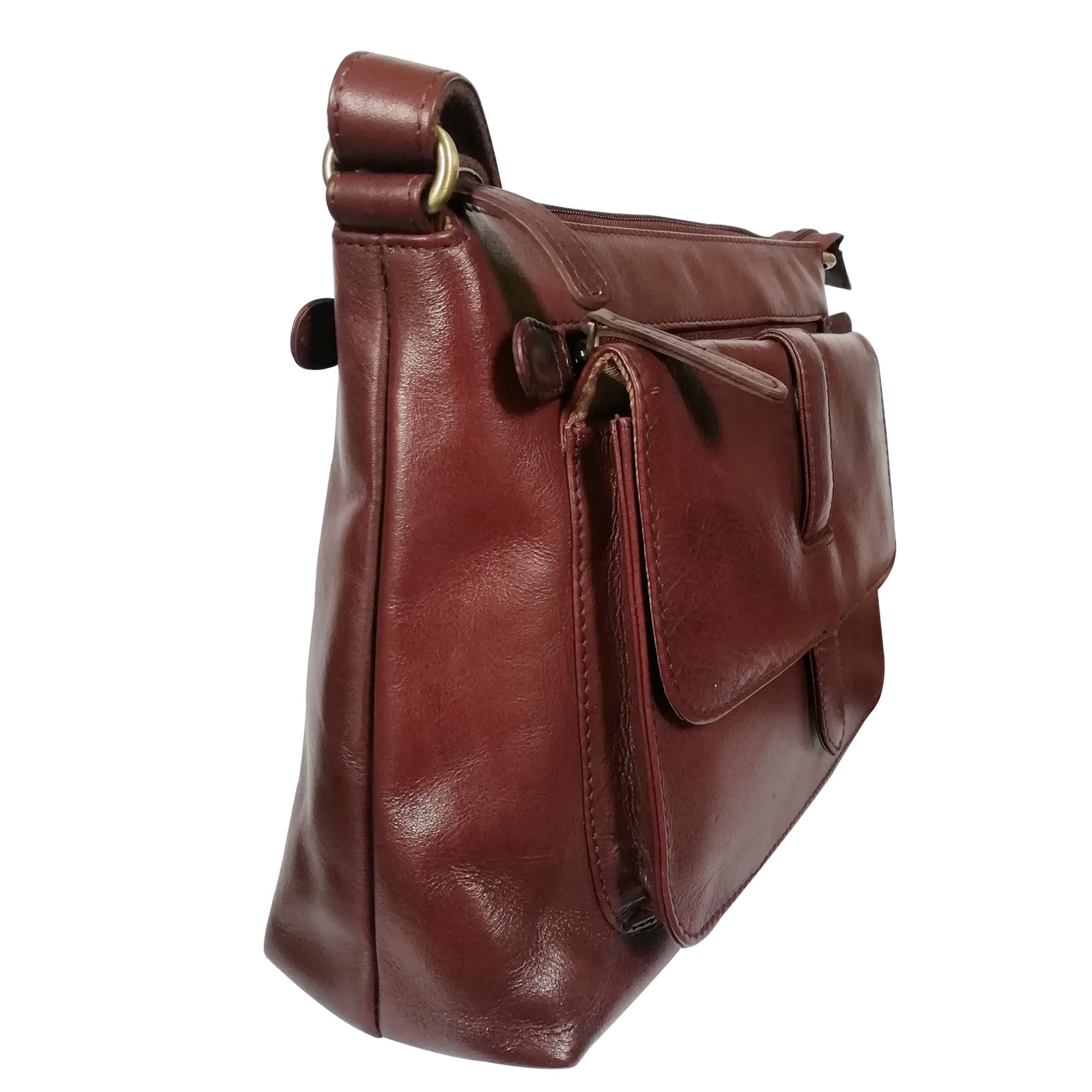 New Leather Shoulder Women Sling Crossbody Handbag