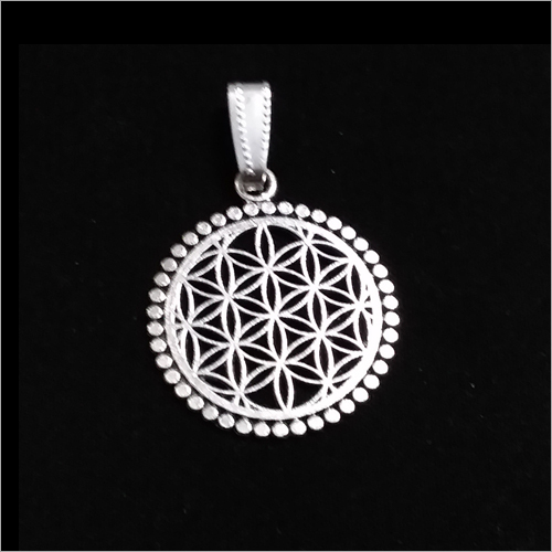 Metal Flower Of Life Pendant