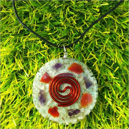 Orgone Amazonite Healing Pendant