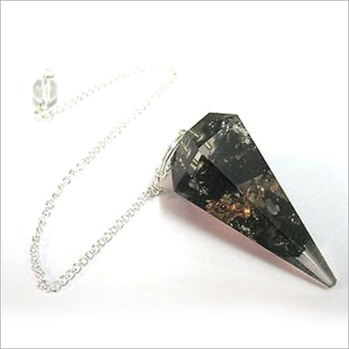 Orgone Black Tourmaline Pendulum Pendant