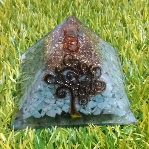 Orgone Amazonite With Logo Pyramid