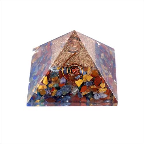 Orgone Multi Stone Pyramid