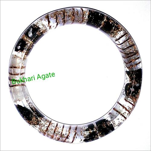 Orgone Black Tourmaline With Selenite Bangle