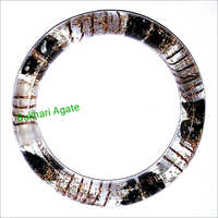 Orgone Black Tourmaline With Selenite Bangle