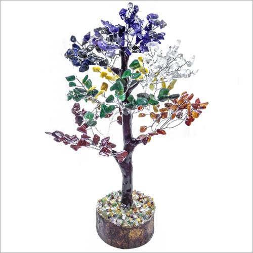 Agate 7 Chakra Tree