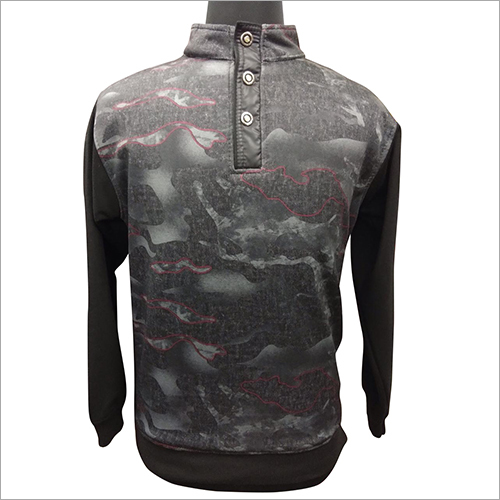 Mens Printed Pullover