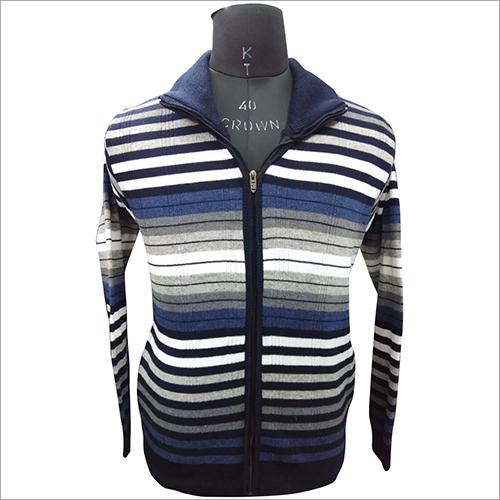 Mens Designer Zipper Sweater