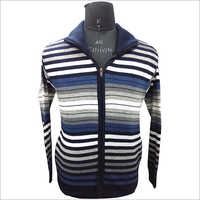 Mens Designer Zipper Sweater