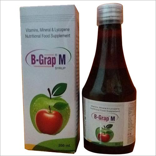 B Grap M Syrup
