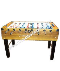 Soccer Table Teak ST 2x4
