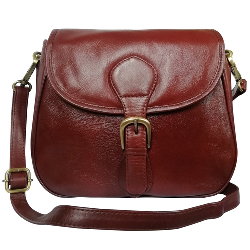 New Leather Sling Crossbody Handbag Women's Shoulder Office Bag
