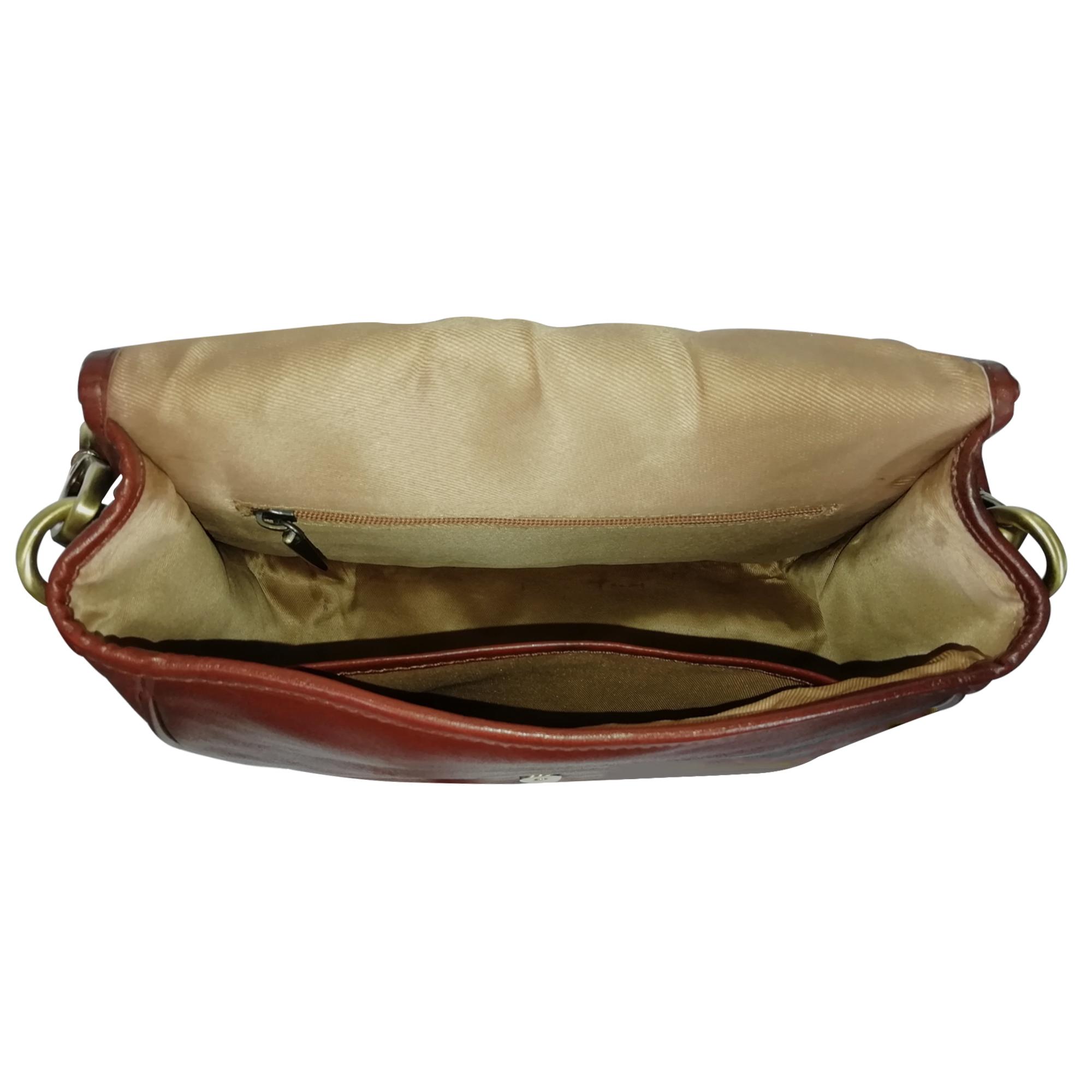 New Leather Sling Crossbody Handbag Women's Shoulder Office Bag