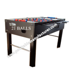 Soccer Table Black 2x4