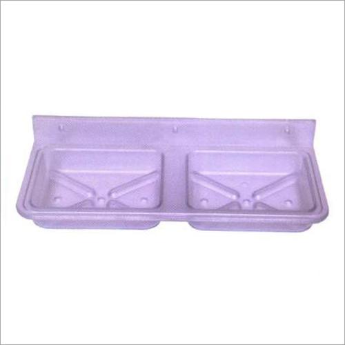 Square Double Soap Dish
