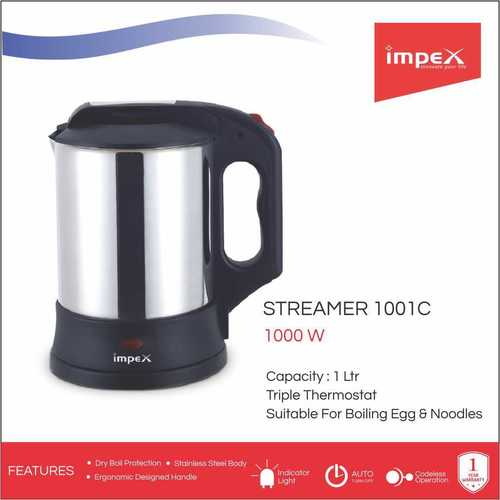 IMPEX Electric Kettle (STEAMER 1001C)