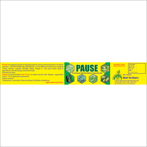 Herbal Base Insecticide