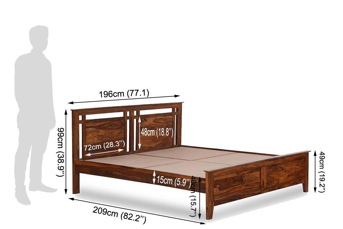 Solid Wood Bed Tencent