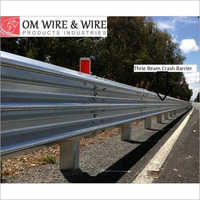 W Beam Highway Crash Barriers