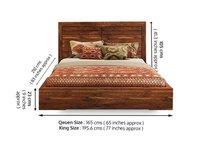 Solid wood Bed Striker