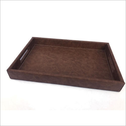 Leather Serving Tray