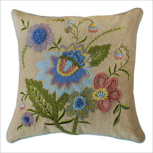Fancy Embroidered Cushion Cover