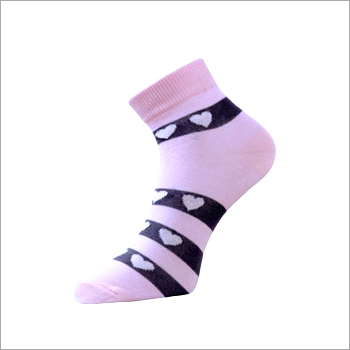 Ladies High Ankle Socks