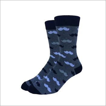 Mens High Ankle Socks