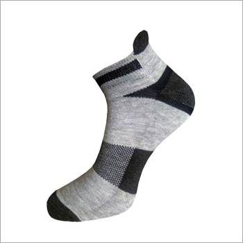 Striped High Ankle Socks