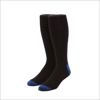 Black Foot Ball Socks