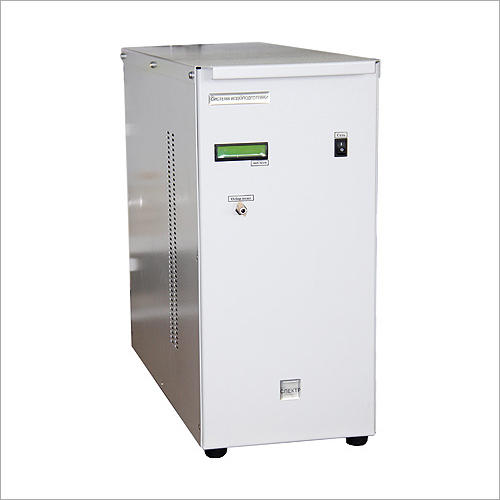 Hydrogen Generator Water Treatment System