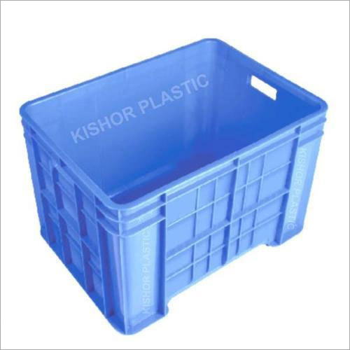 Blue Plastic Catering Crate