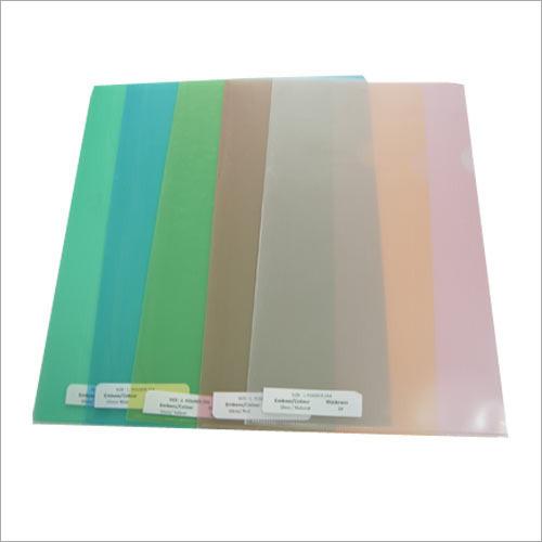 A-4 Plastic Folder