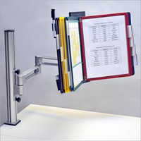 SOP Display Adjustable Information Table Clamp