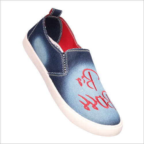 Printed Canvas Loafer
