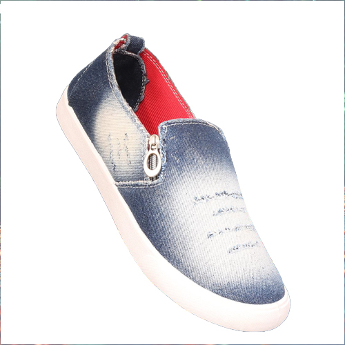Mens Casual Canvas Loafer